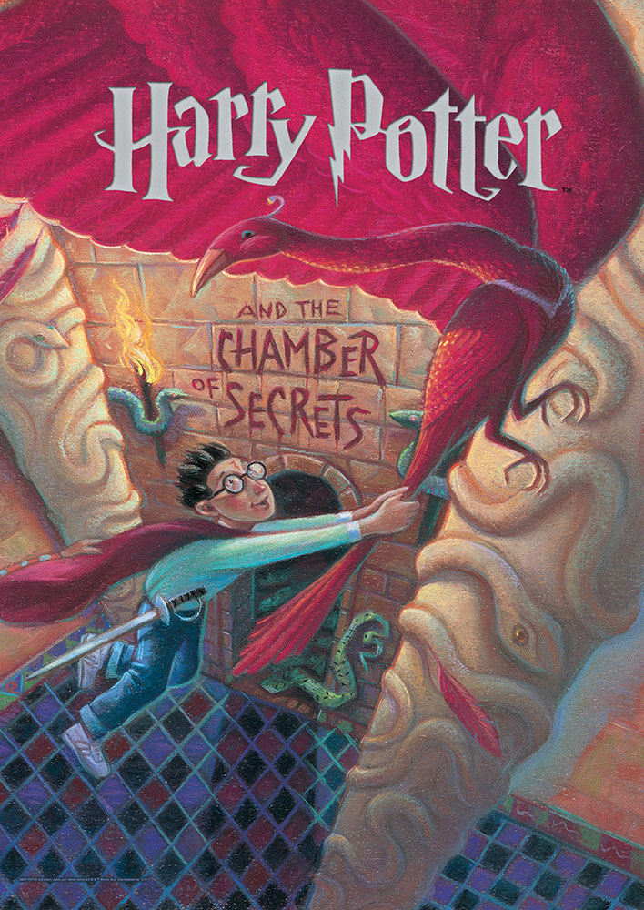 Harry Potter Book Cover Chamber Of Secrets Mightyprint