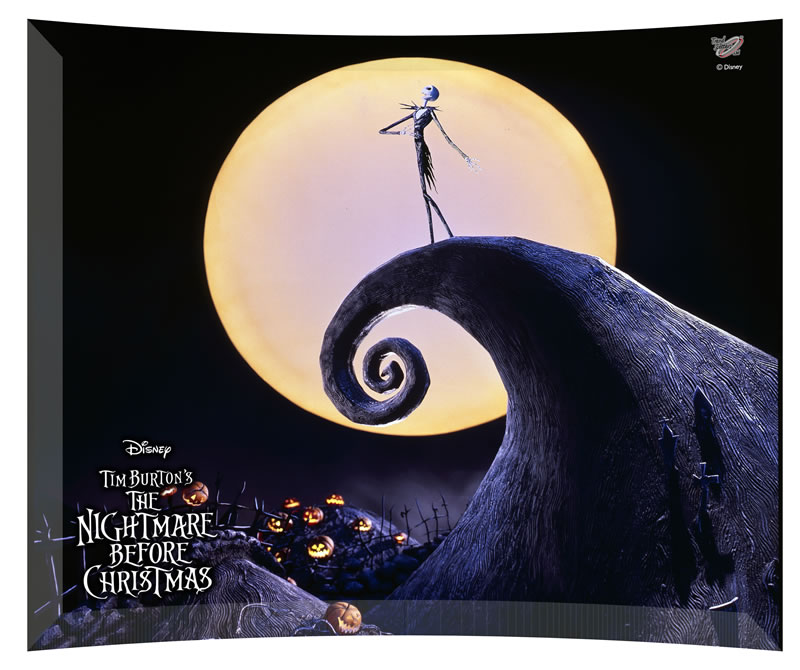 Tim Burton's The Nightmare Before Christmas (Spiral Hill Scene ...