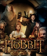 Hobbit Film Cells