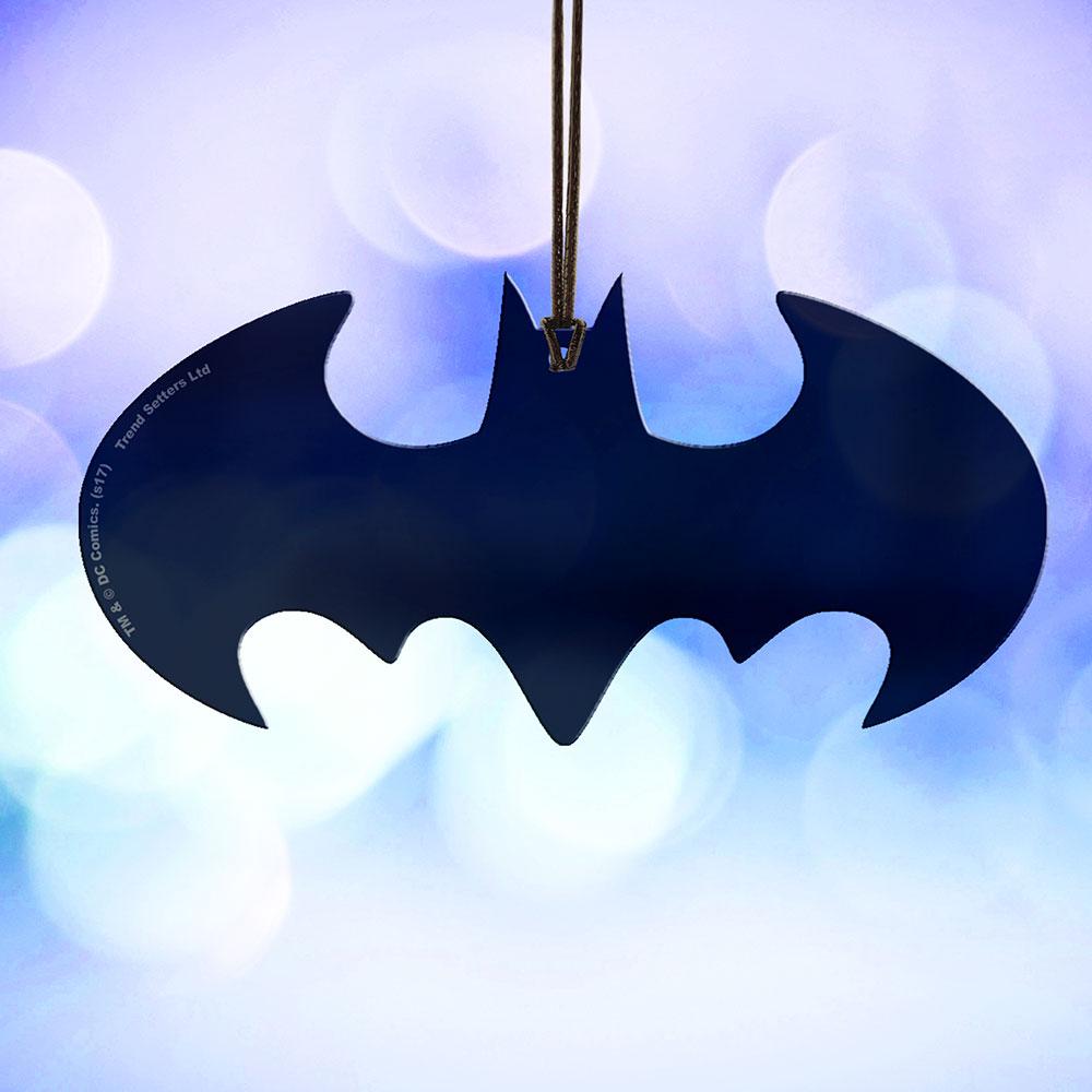 Dc Batman Batman Classic Logo Hanging Acrylic Acpbat267