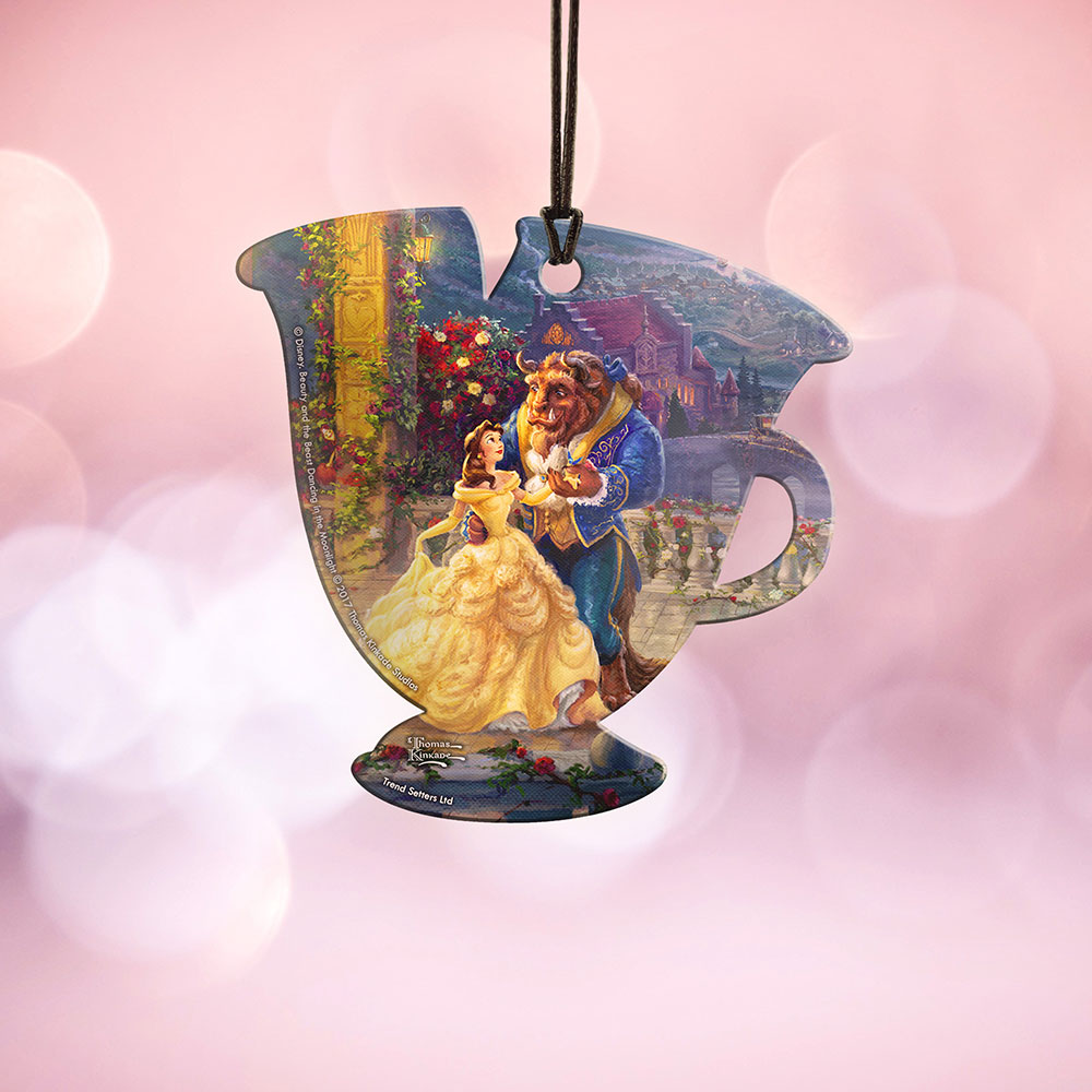 Disney\'s (Beauty and the Beast Dancing in the Moonlight) Hanging ...