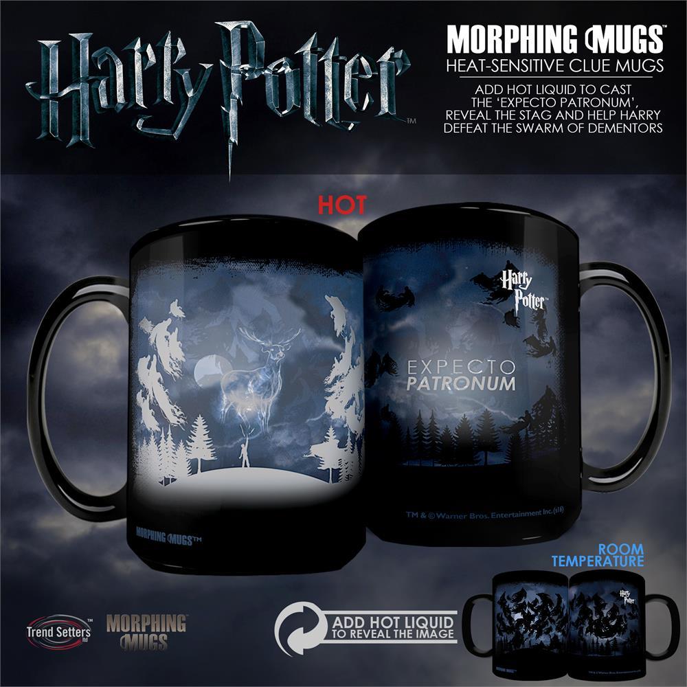 Harry Potter Expecto Patronum Morphing Mugs Heat Sensitive