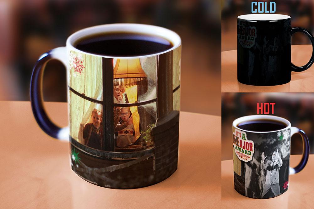 A Christmas Story Leg Lamp Morphing Mugs Heat Sensitive Mug