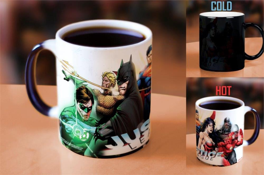 Dc Comics Justice League New 52 Morphing Mugs Heat