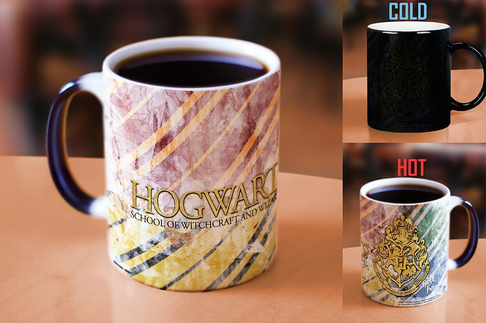 Harry Potter Hogwarts Morphing Mugs Heat Sensitive Mug
