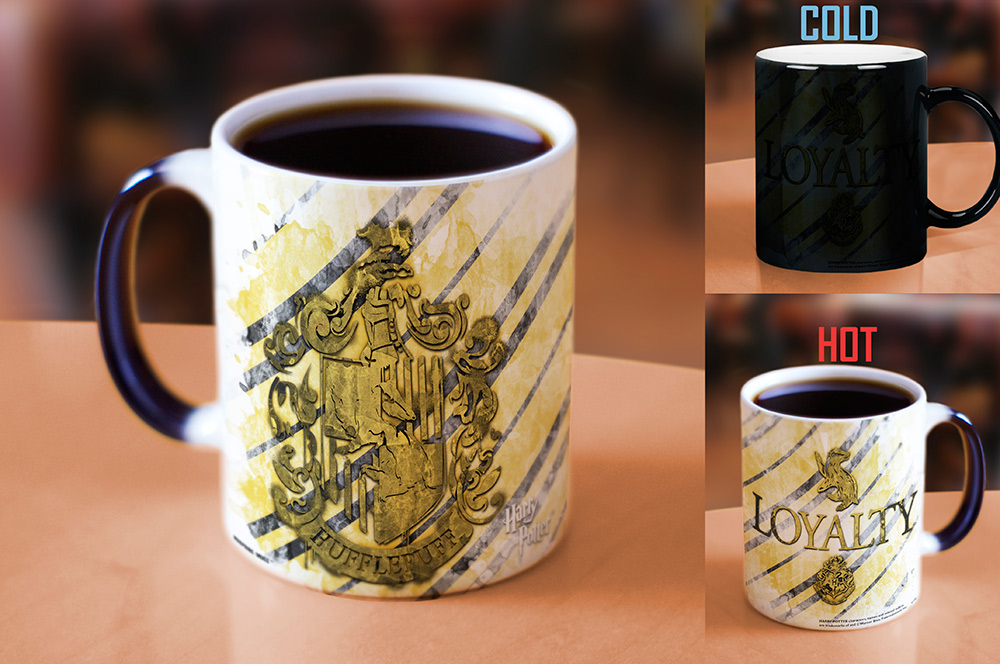 Harry Potter Hufflepuff Morphing Mugs Heat Sensitive Mug