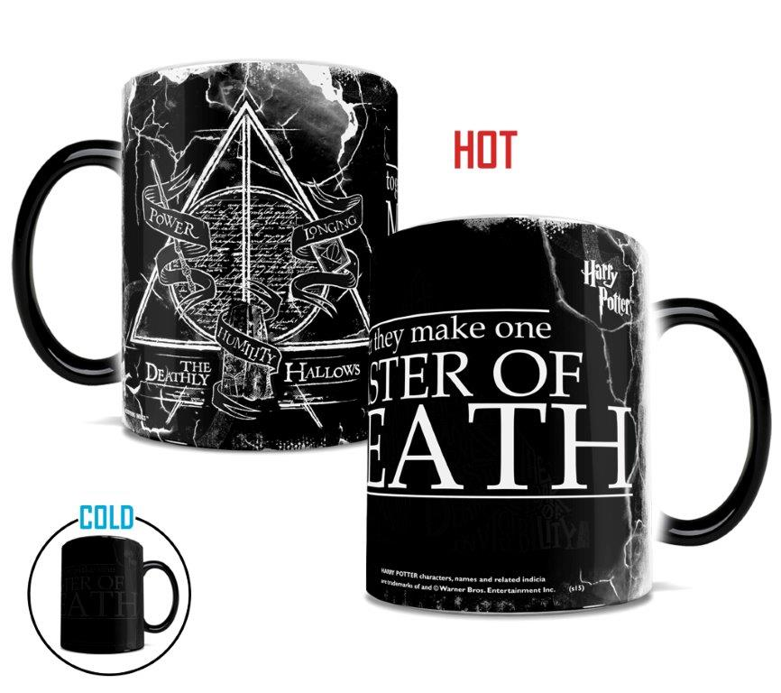 Harry Potter The Deathly Hallows Morphing Mugs Heat Sensitive Mug
