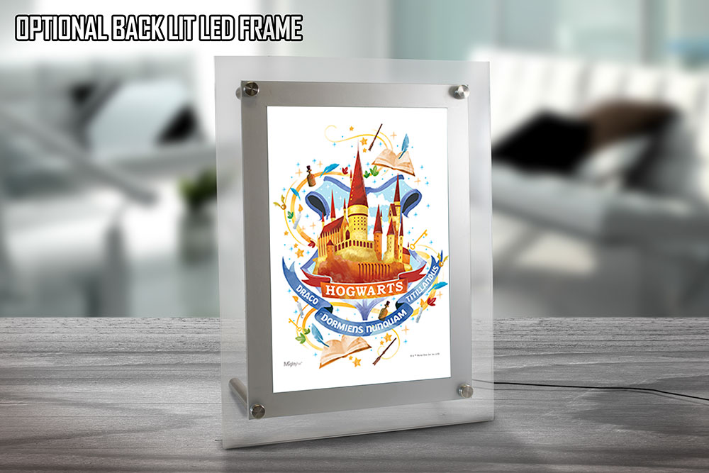 Harry Potter (Hogwarts Watercolor) MightyPrint Wall Art MP08100454