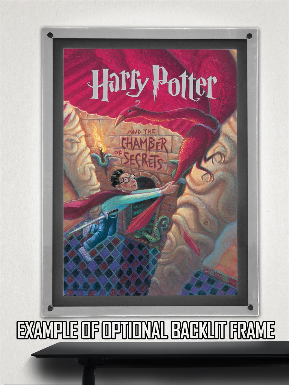 Harry Potter Book Light : Harry potter book cover chamber of secrets mightyprint