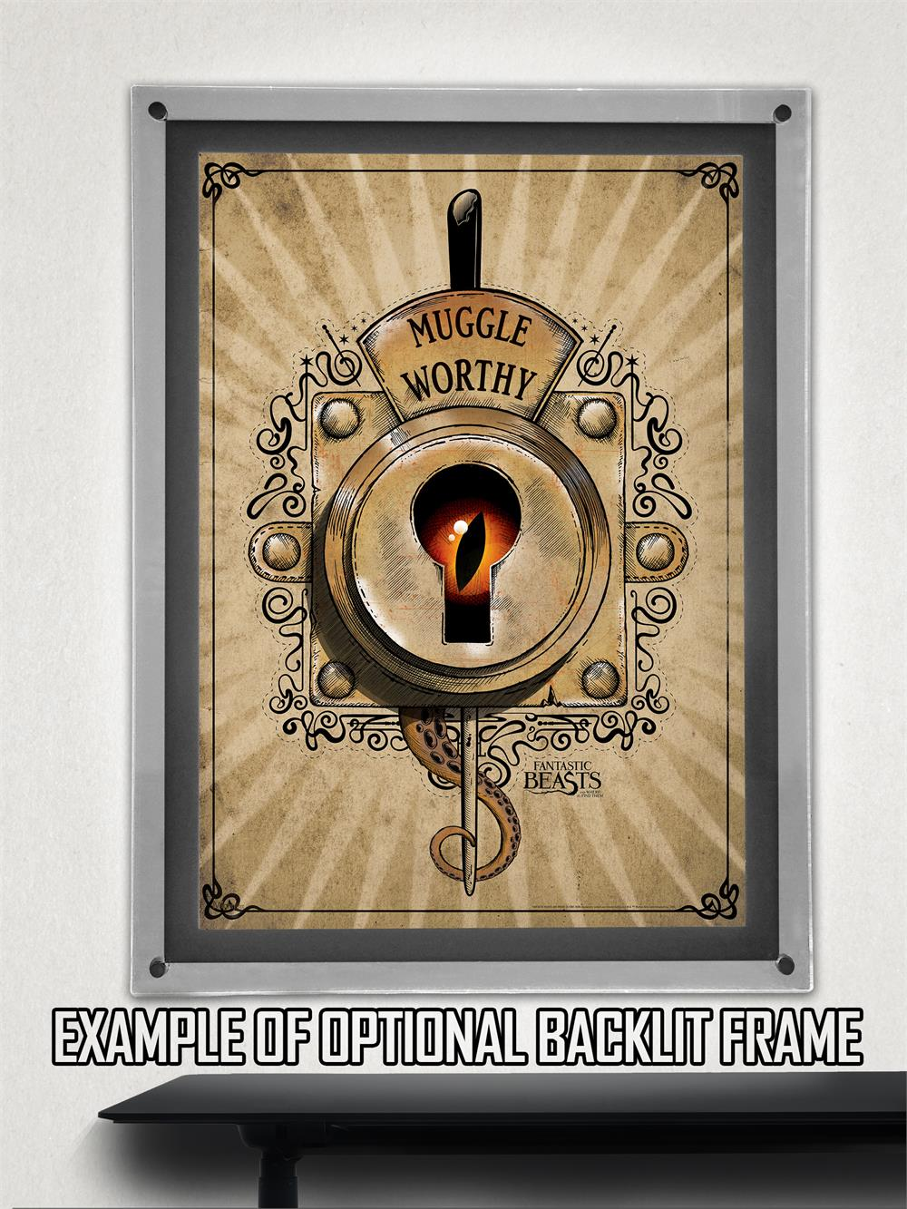 Fantastic Beasts Muggle Worthy Mightyprint Wall Art
