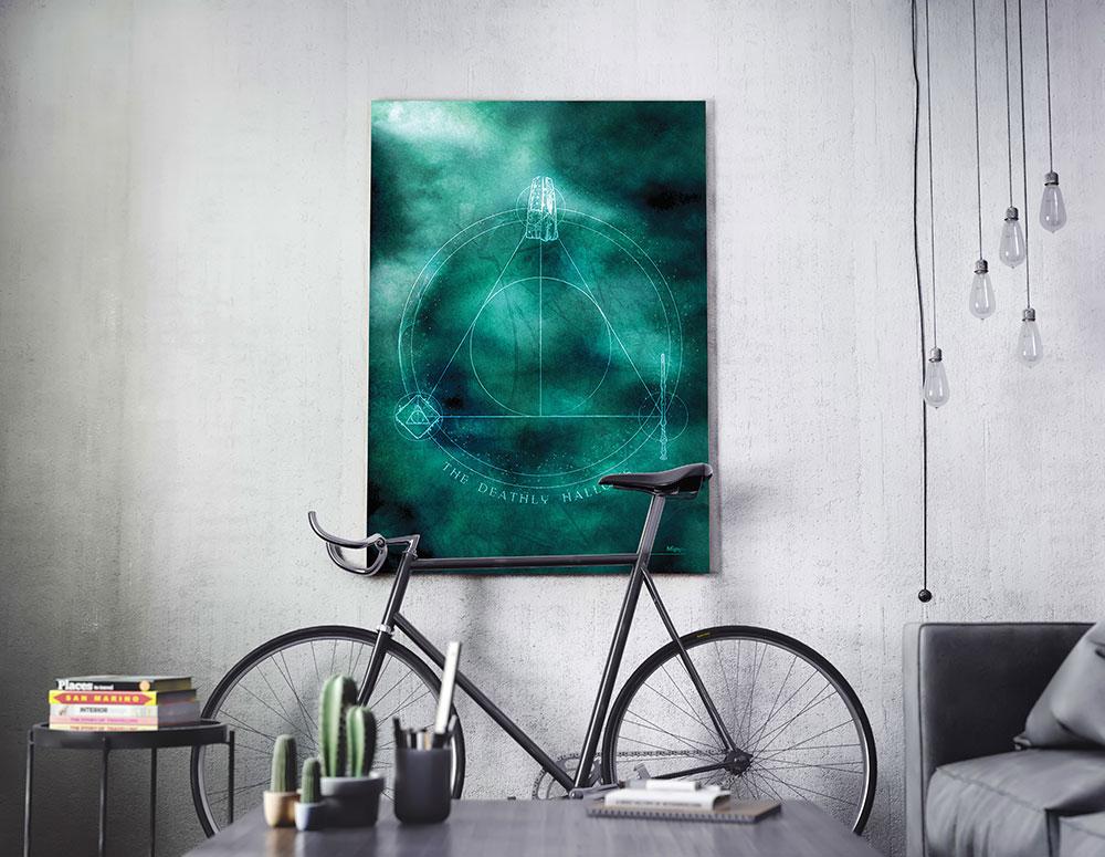 Harry Potter Deathly Hallows Mightyprint Wall Art Mp17240370