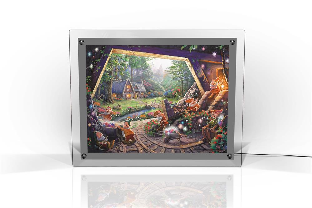 Thomas Kinkade Studios Snow White And The Seven Dwarfs