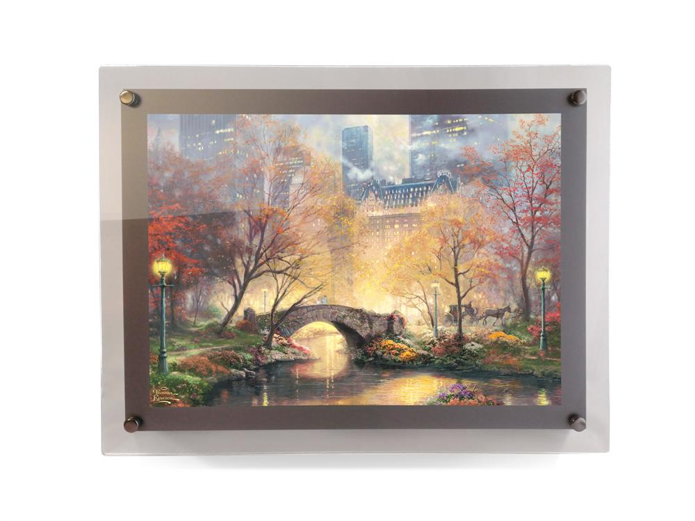 Thomas Kinkade Central Park In The Fall Polypix Print