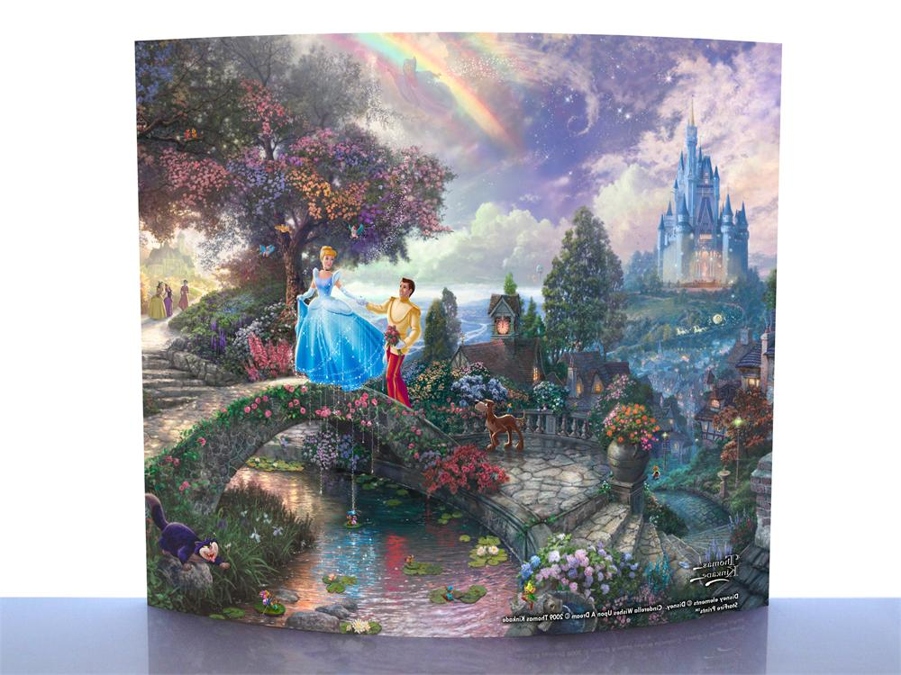 Thomas Kinkade Cinderella Wishes Upon A Dream Starfire