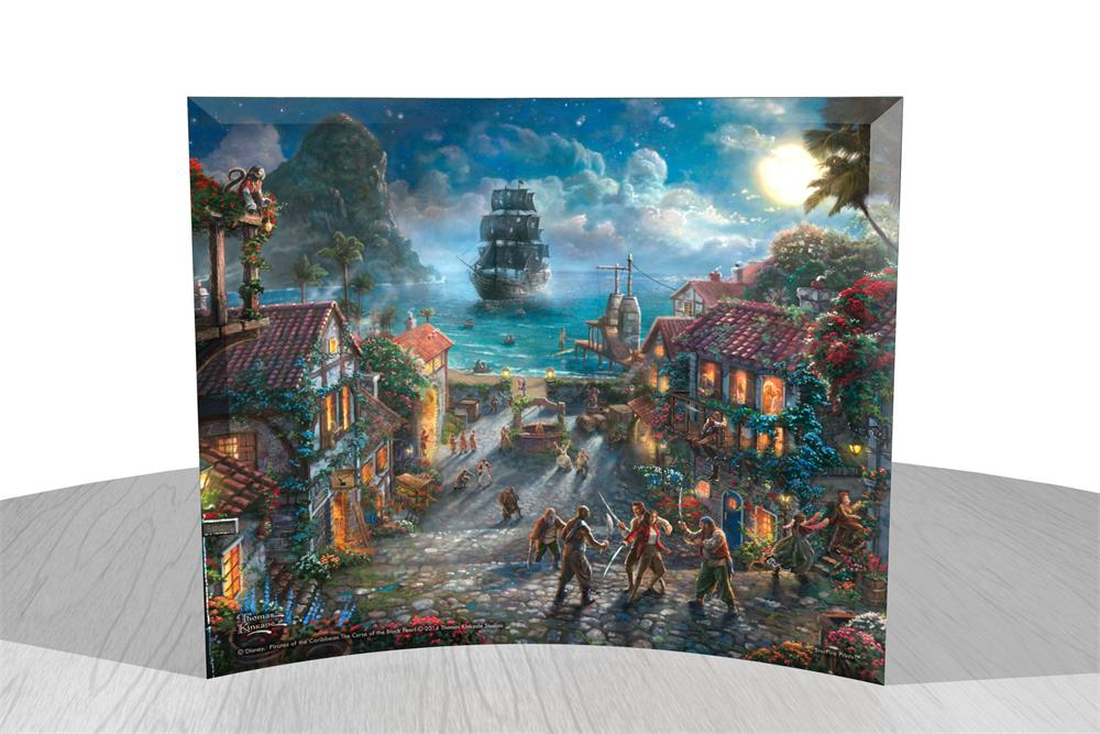 Thomas Kinkade Studios Pirates Of The Caribbean Starfire