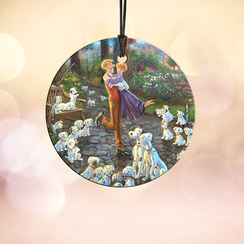 Disneys 101 Dalmatians Starfire Prints Hanging Glass Spcir715