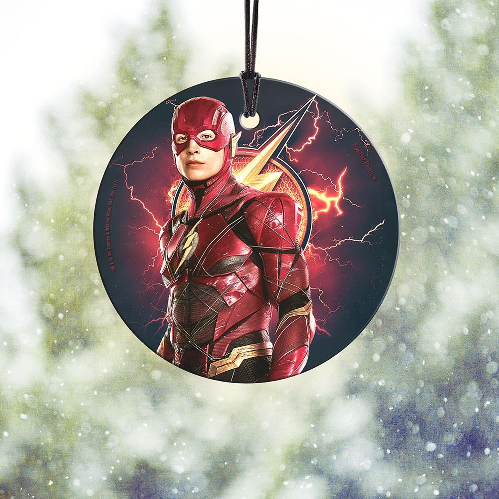 Justice League (Flash) StarFire Prints Hanging Glass SPCIR759