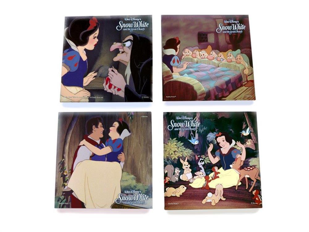 Snow White and the Seven Dwarfs StarFire Prints Glass ...