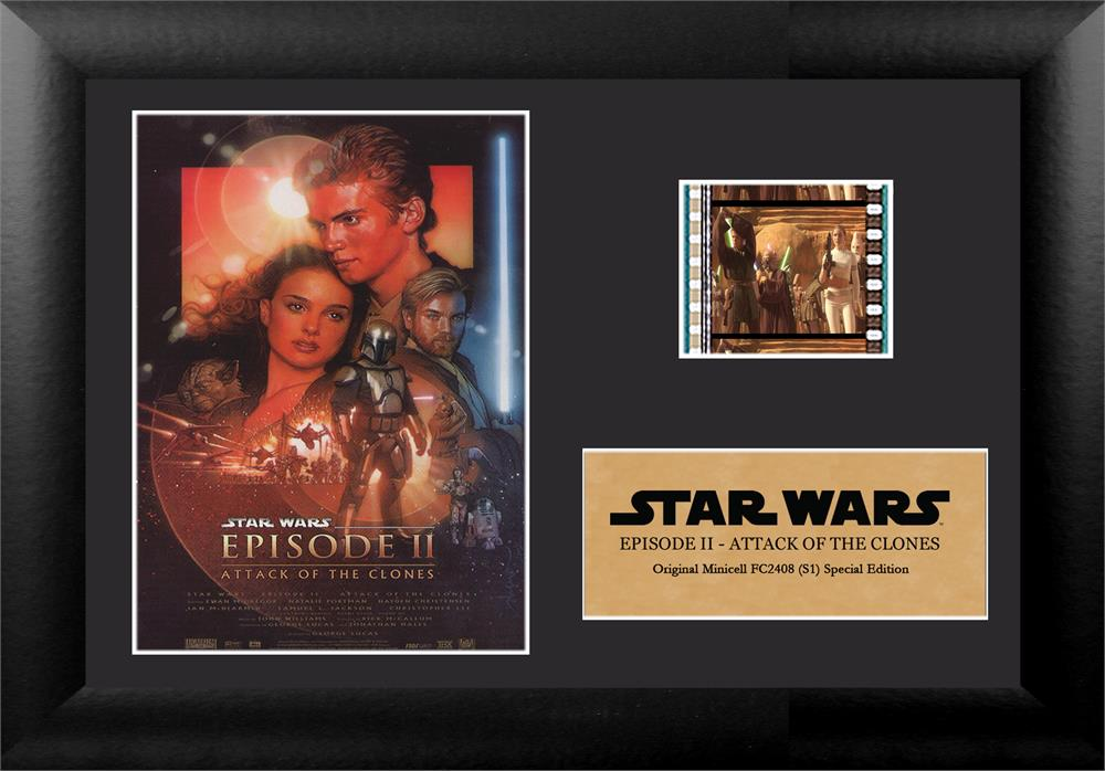 Star Wars Episode Ii Attack Of The Clones Authentic 35mm