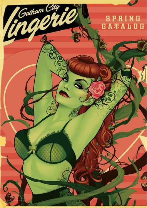 DC Comics Justice League (Bombshell Poison Ivy) MightyPrint Wall Art