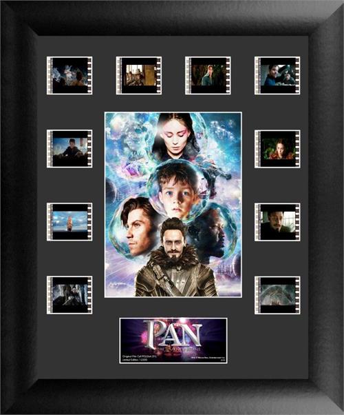 Pan The Journey Begins Mini Montage Framed FilmCell