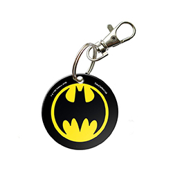 Take the Bat-Signal with you wherever you go with this circular acrylic keychain. Batman fans will love being able to show off their passion for The Dark Knight.
