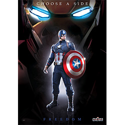 Marvel's Captain America: Civil War (Team Cap) MightyPrint Wall Art