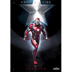 Marvel's Captain America: Civil War (Team Stark) MightyPrint Wall Art