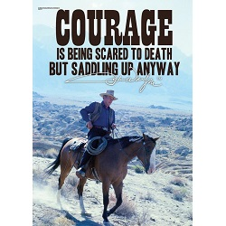 John Wayne (Courage) MightyPrint Wall Art