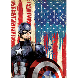 Marvel's Captain America: Civil War (Cap) MightyPrint Wall Art