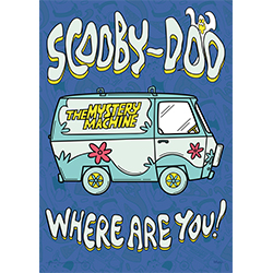 Scooby-Doo and the gang are off to solve another mystery! Hang this retro Scooby-Doo Where Are You! MightyPrint™ Wall Art up in your most haunted room to scare any ghost or phantom pirate away instantly.  Scooby, the Mystery Machine, snacks and more are h