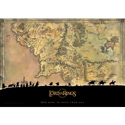 The Lord of the Rings (Middle Earth) MightyPrint Wall Art