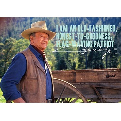 John Wayne (Old Fashioned) MightyPrint Wall Art