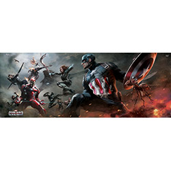 Marvel's Captain America: Civil War (Divided) MightyPrint Wall Art