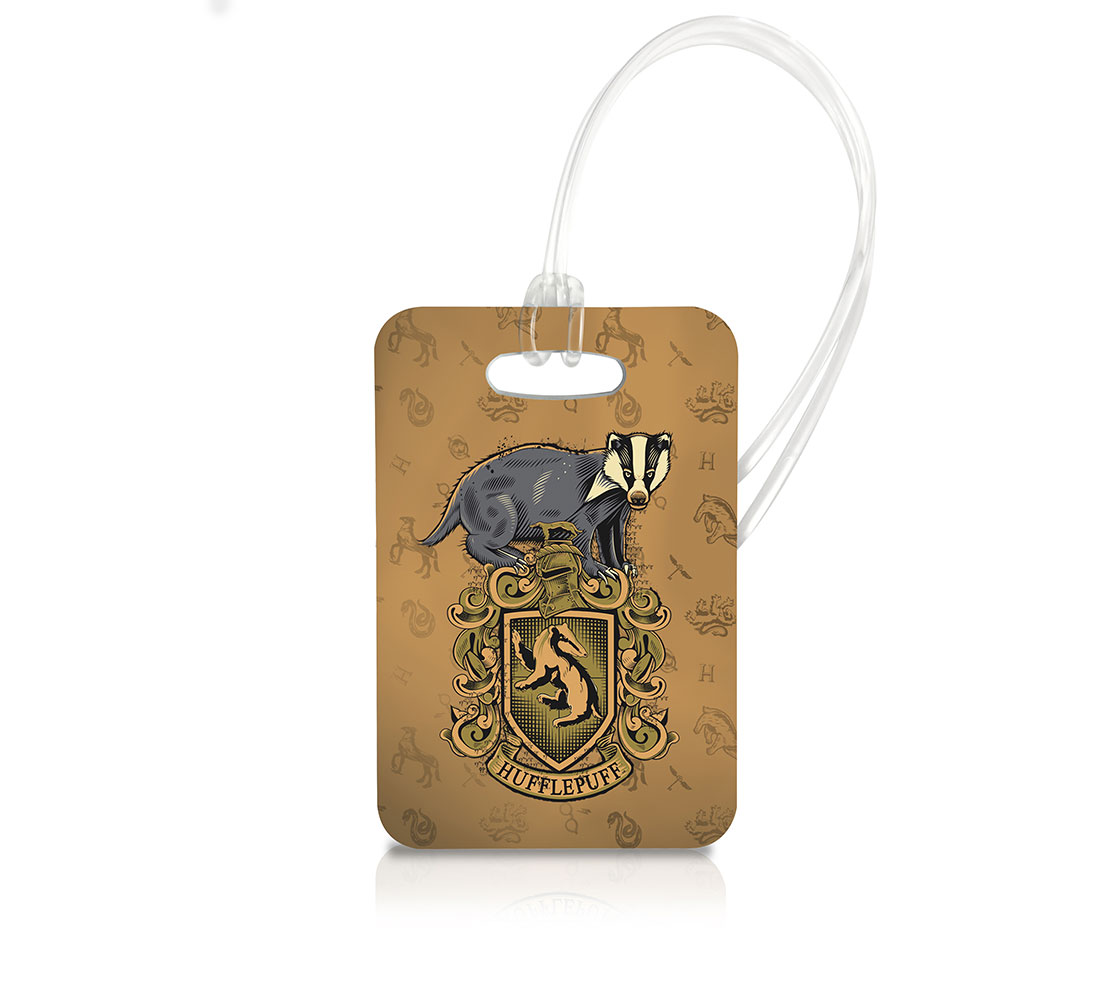 Harry potter hufflepuff luggage tag ltrec028 sharethis copy and paste biocorpaavc