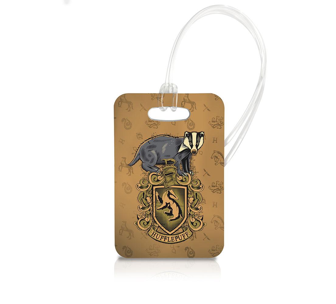 Harry Potter Hufflepuff Luggage Tag Ltrec028