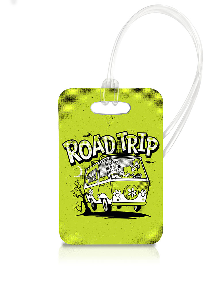 Scooby Doo (Road Trip) Luggage Tag LTREC049