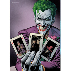 The Joker™ brings his brand of insanity to this MightyPrint Wall Art. This state of the art, light diffusing print features an officially licensed DC Comics Justice League rendition of The Joker.