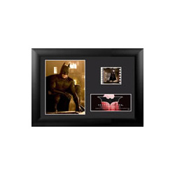 """It's not who I am underneath, but what I do that defines me."" Celebrate the beginnings of a legend in Christopher Nolan's Batman Begins with this framed collectible Minicell featuring an image of Batman™, and one clip of real 35mm film."