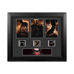 Gotham City's nefarious underworld has a new reason to be afraid of the dark. Celebrate the beginnings of Batman™ with this limited edition framed FilmCells presentation from Christopher Nolan's Batman Begins.