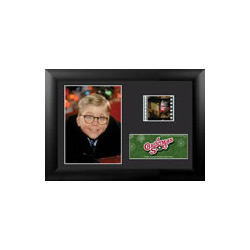 Bring the fun, family, and all American glory of A Christmas Story to your collection with this FilmCells™ presentation. This collectible features an image of Ralphie, a certificate of authenticity, and one clip of real 35mm film from the movie.