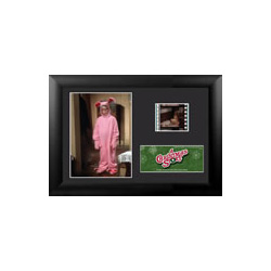 Bring the fun, family, and all American glory of A Christmas Story to your collection with this FilmCells™ presentation. This collectible features an image of Ralphie in his pink rabbit suit, a certificate of authenticity, and one clip of real 35mm film.