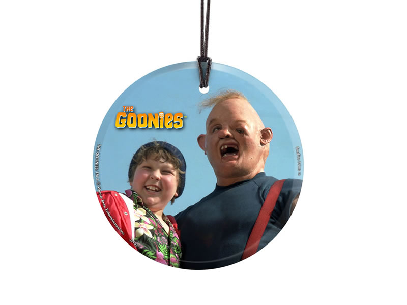 The Goonies Sloth And Chunk Starfire Prints Hanging Glass Spcir412