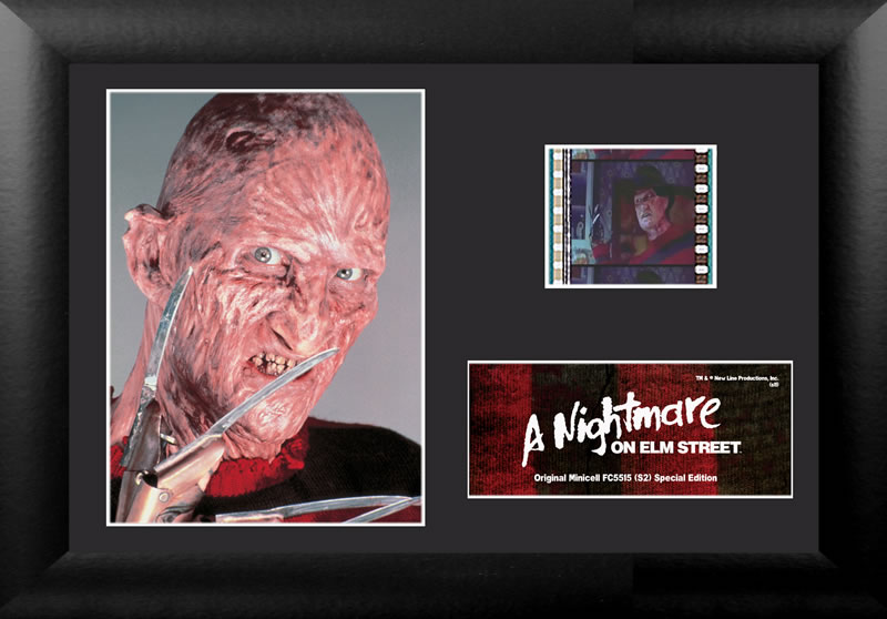 This is a classic A Nightmare On Elm Street product and images and film are from the movie.