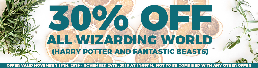 30 Percent Off Wizarding World