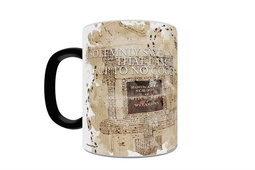 Harry Potter Marauder's Map Morphing Mugs Heat-Sensitive Drinkware