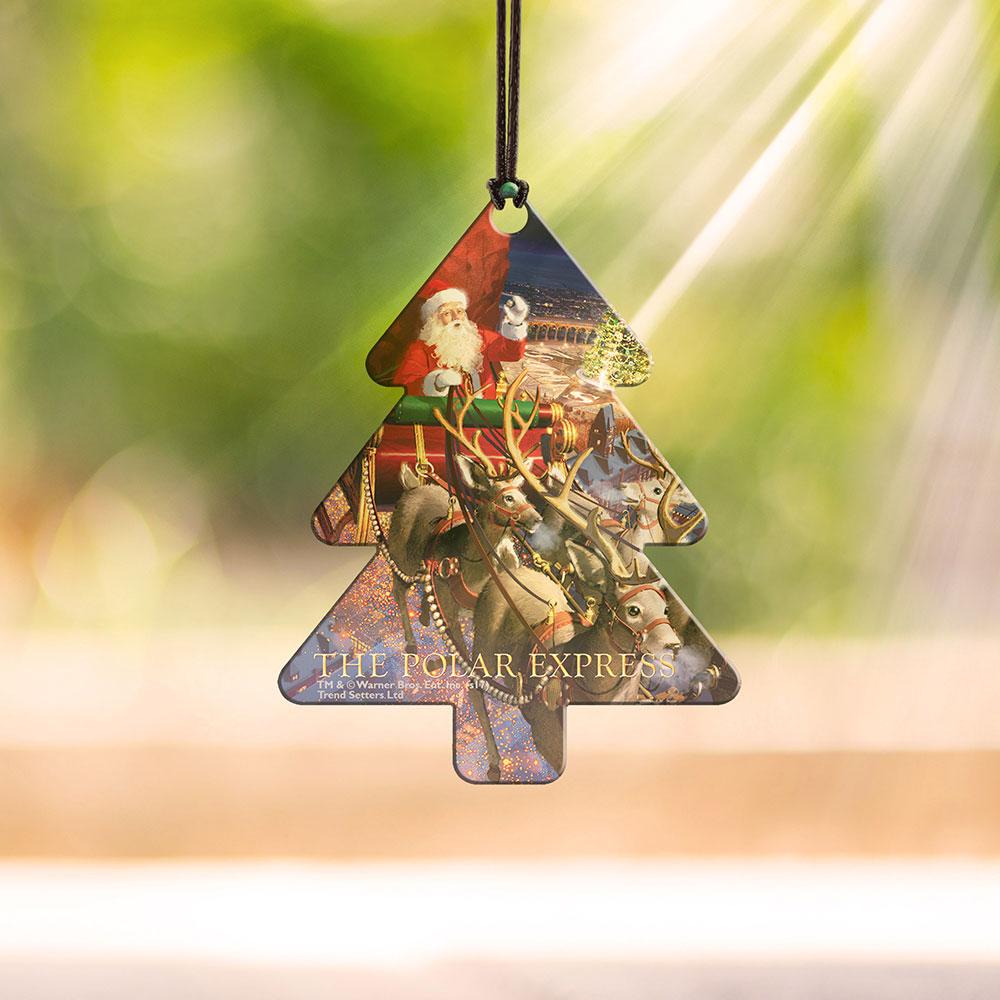 Polar Express (Christmas Tree) Hanging Acrylic Decoration ...