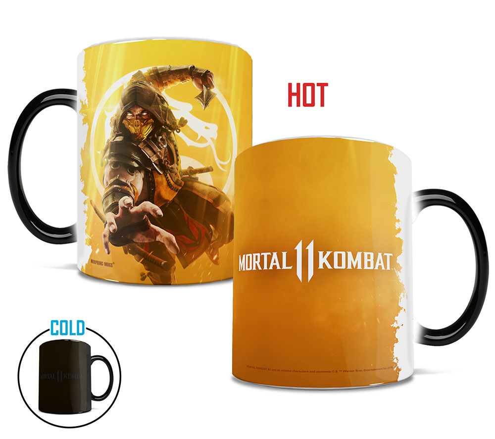 Mortal Kombat 11 Get Over Here Morphing Mugs Heat Sensitive