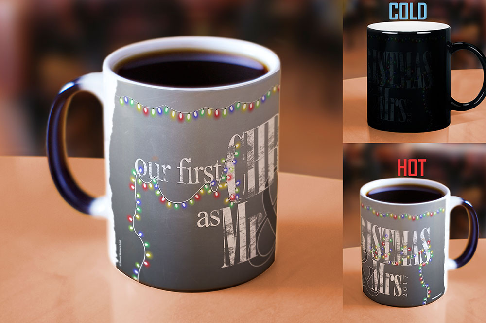 Christmas (Our First - Lights) Morphing Mugs Heat ...