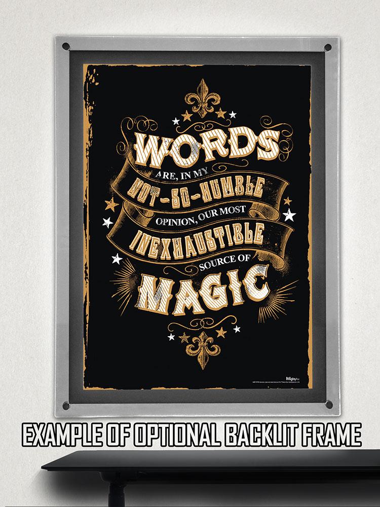 Harry Potter (Magic Words) MightyPrint Wall Art